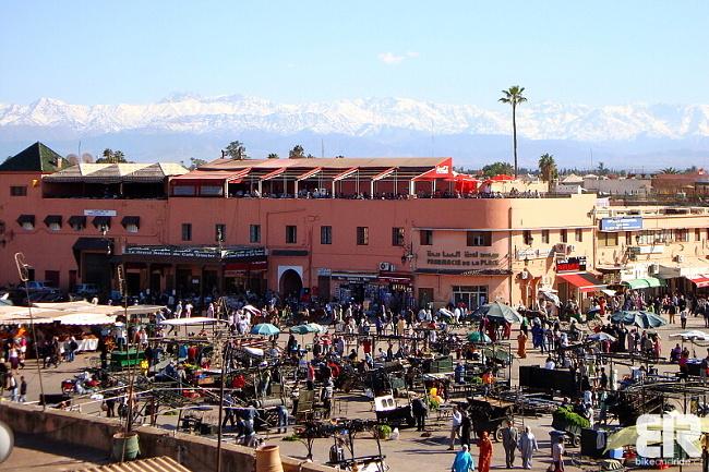 FR-Morocco Marrákeš