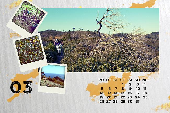 BnR Kalendář 2012 - březen