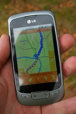 SmartMaps - TEST navigace do mobilu