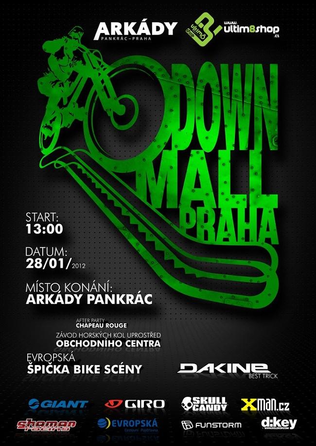 Arkády Ultim8 DownMall 2012 - pozvánka