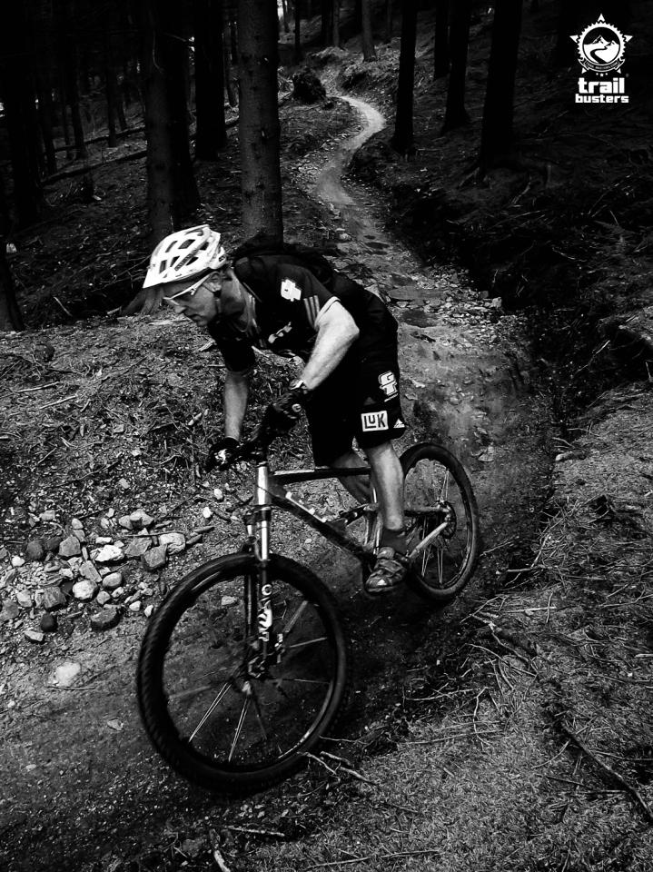 Hans Rey na Singltreku pod Smrkem - by TrailBusters.com