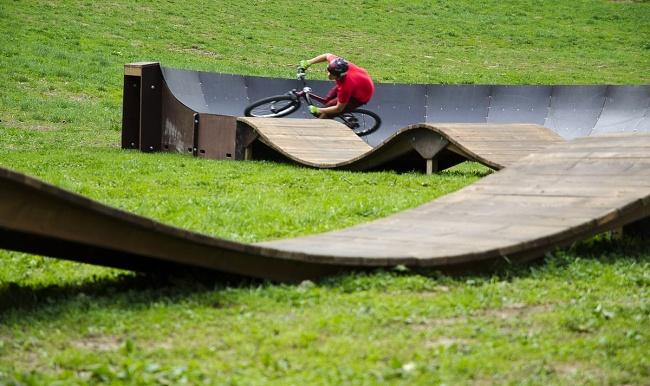 Velke Karlovice - Bikepark Kycera