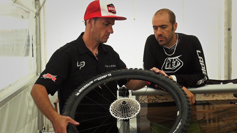 Nico Vouilloz - SRAM wheels