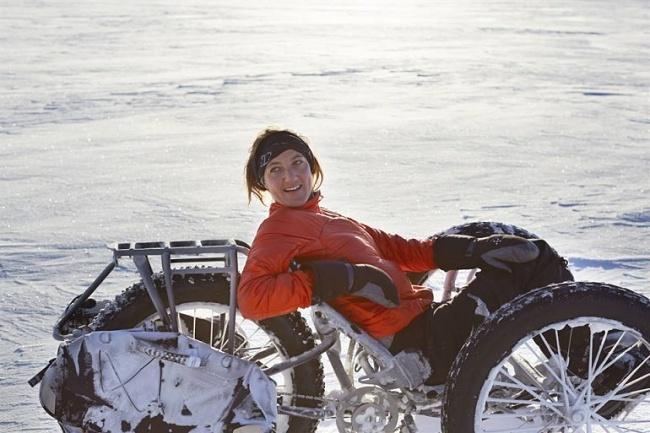 Maria Leijerstam - dobytí jižního pólu