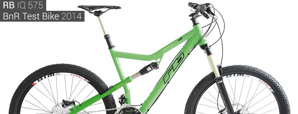 Testovací kolo BikeAndRide.cz 2014 - RB IQ 575