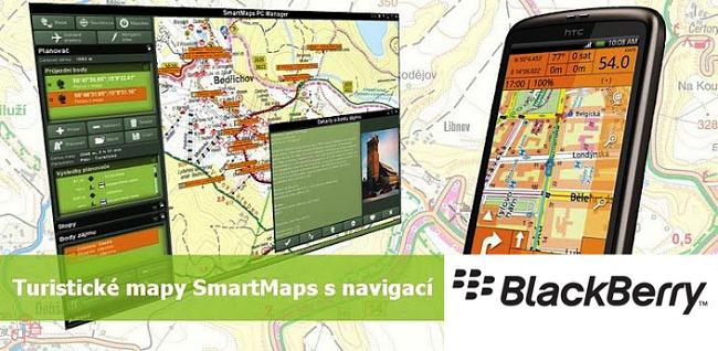 SmartMaps novì i pro Blackberry 10