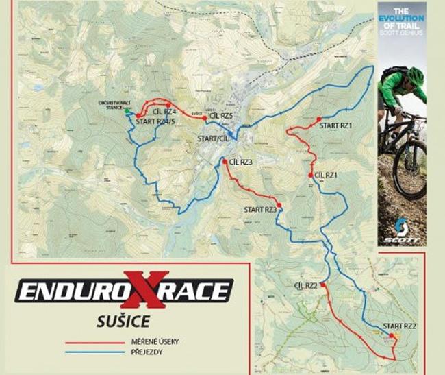 Enduro X Race - startuje na Šumavě