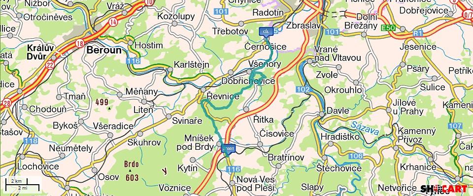 Trasa.-Mnisek-Cernosice