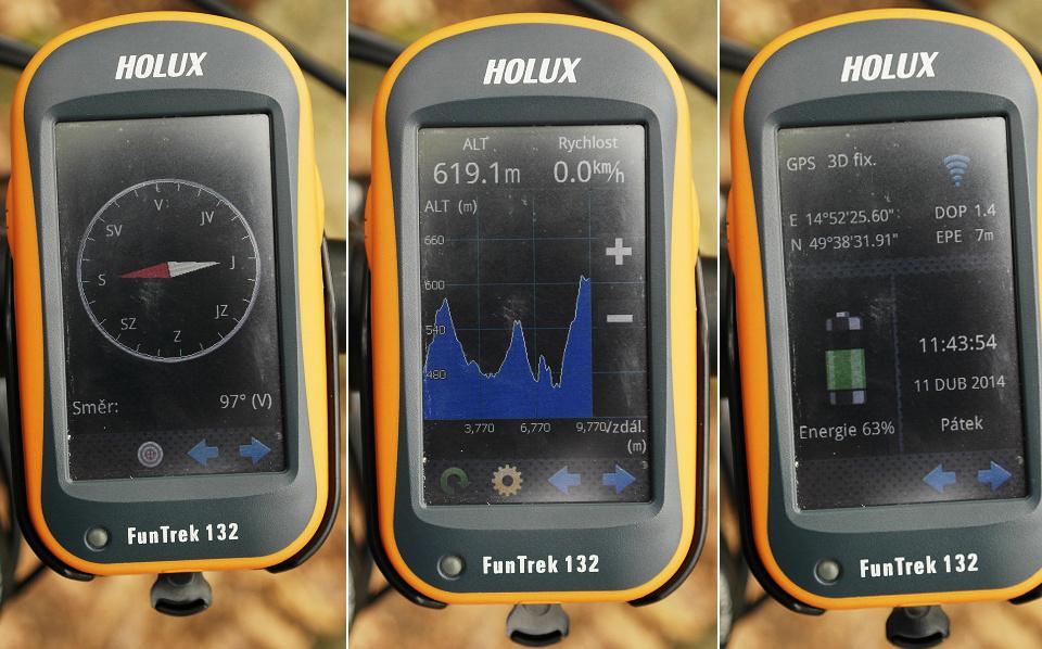 HOLUX Funtrek 132 - SmartMaps