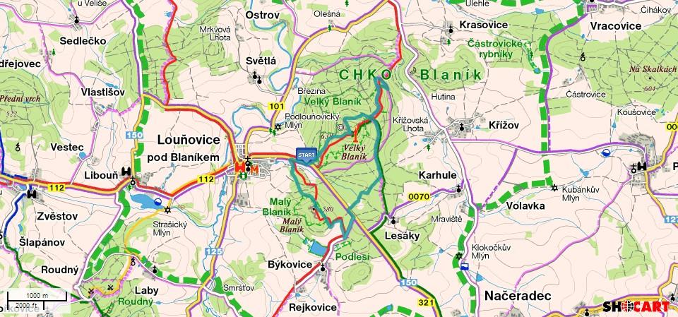 Maly- Velky Blanik - MTB Trip