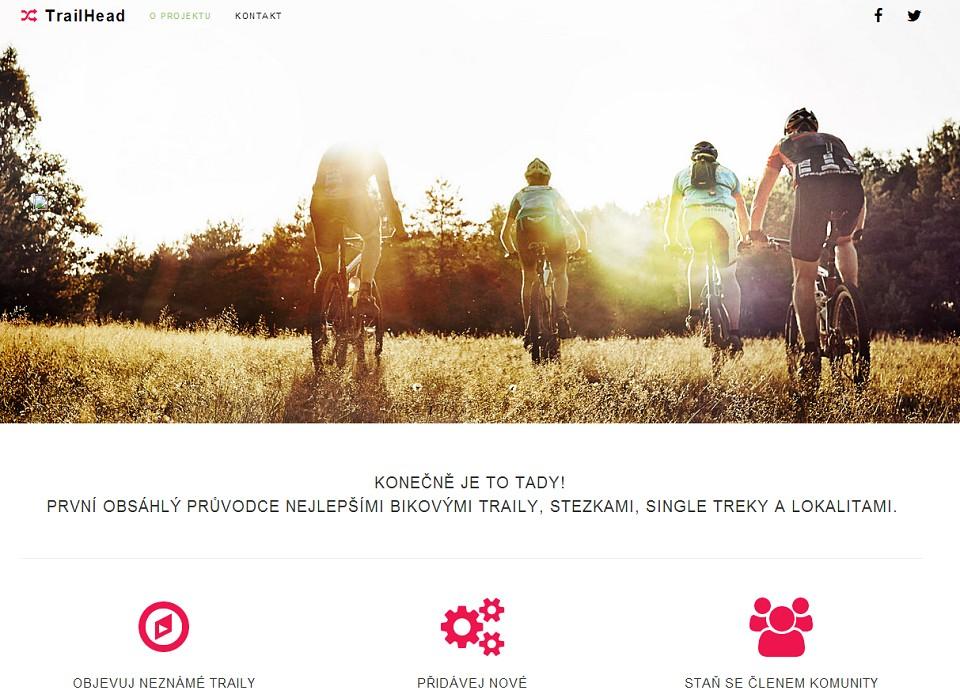 TrailHead.cz - novy prostor pro nase vylety