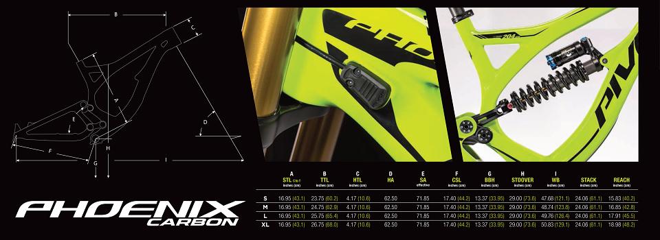 PIVOT 2015 - Pivot Mach 4 27,5 Carbon | Pivot Phoenix Carbon