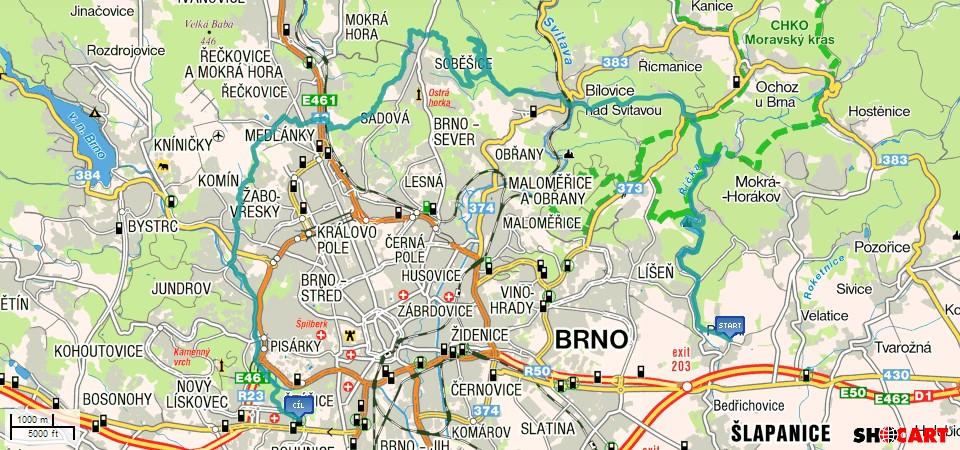 BnR Trip  Brno sever