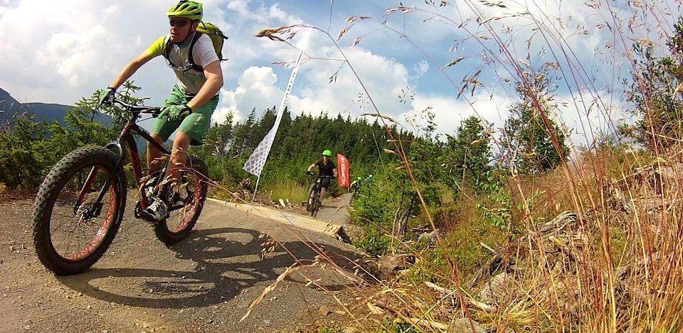 Dolni Morava - Single trails