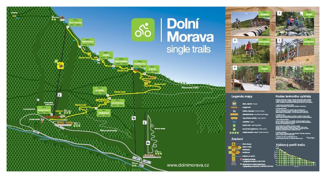 Dolni Morava - Sungle trails