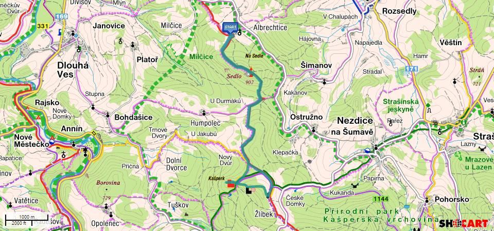 BnR Trip - Albrechtice-Sedlo-Kašpekr a zpìt