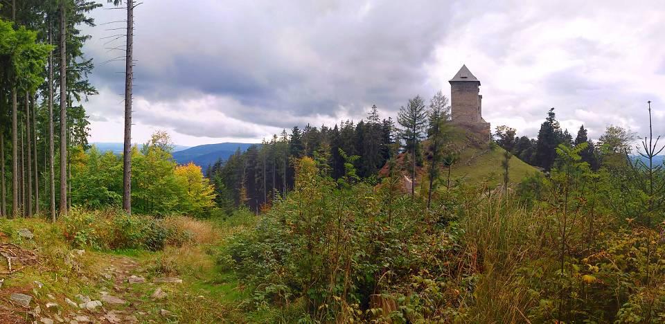 Sedlo-Kasperk-start
