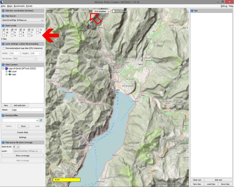 HOLUX - import OSM map - praktický návod