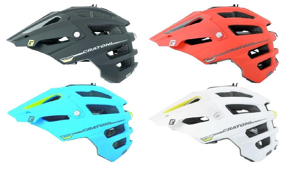 CRATONI Alltrack - 100% enduro helma (novinka)