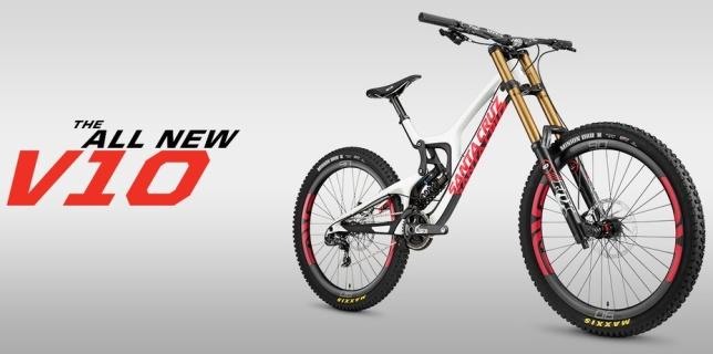 Santa Cruz V10 (6th gemeration) - Tech News