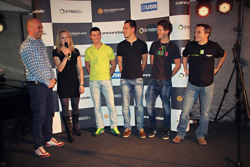 Team Symbio+ Cannondale – novinky pro sezonu 2015