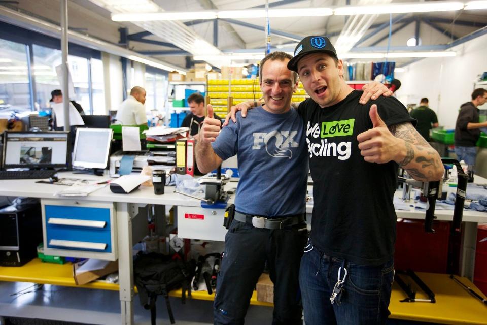 Richard Gasperotti (Gaspi) - Fox Factory Deutschland 2015