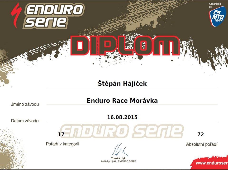 Enduro-Race-Moravka-2015-SHajicek-diplom