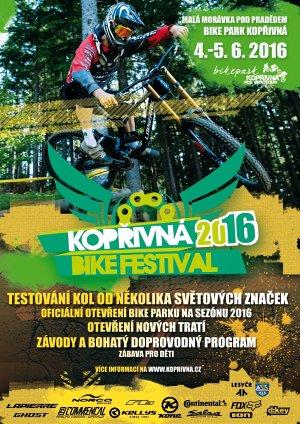 Kopøivná Bike Festival 2016 - pozvánka