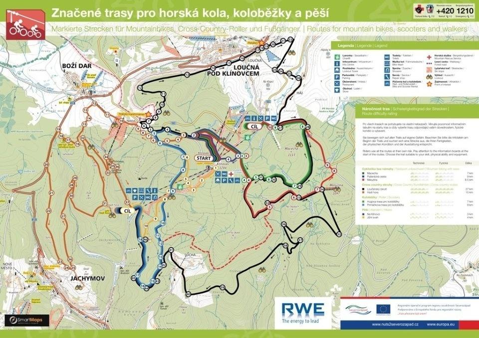Trail Park Klinovec #MTBbikepark