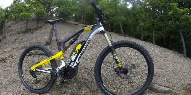 Lapierre Overvbolst FS 600 - ride