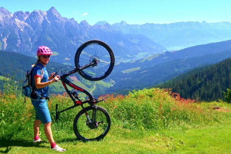 Saalbach-Hinterhlem - bikersky raj
