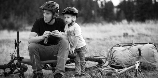 Robbie and Matt Hunter in Kamloops, British Columbia, September 2016