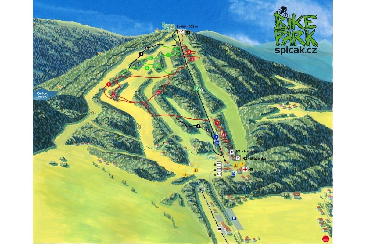Bikepark Spicak Objektivem Bnr Video Report Bikeandride Cz